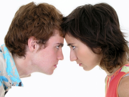 Bild på en man och en kvinna
