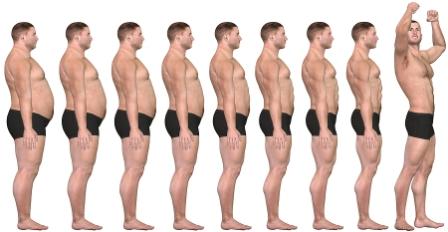 Från överviktig till normalvikt
